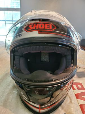 Shoei helmet with built-in blue tooth for Sale in Plant City, FL
