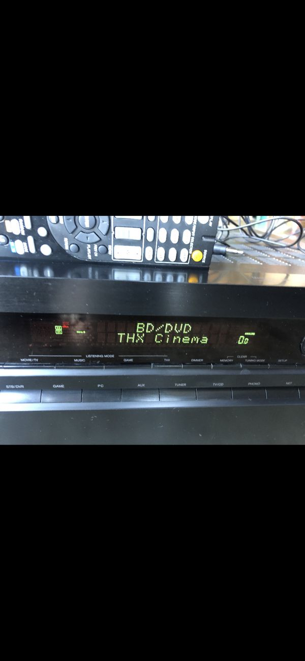 Onkyo TX-NR717 7.2-Channel Network AV HDMI Receiver W REMOTE(NO SOUND For REPAIR )