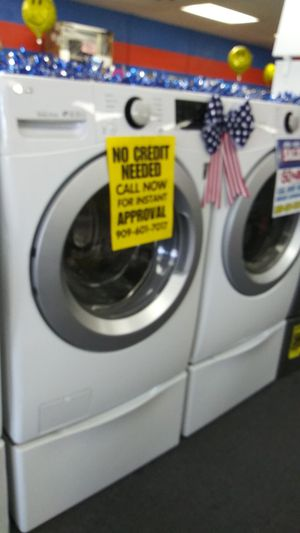 💥4 OF JULY SALE💥LG WASHER AND DRYER 💙BUY NOW PAY LATER💙NO CREDIT NEEDED💙SAME DAY DELIVERY💙 0-40$ DOWN 💙ASK 4 YASMINE 4 DISCOUNT for Sale in Riverside, CA