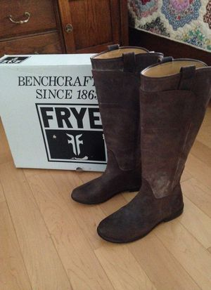 Frye Paige Leather Riding Boots for Sale in Morton, IL