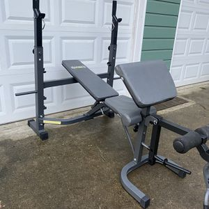 Home Gym Bench Press Rack for Sale in Snohomish, WA