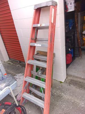 6 foot Werner ladder for Sale in Winter Haven, FL