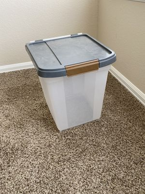 Mid size plastic storage container for Sale in Aurora, CO