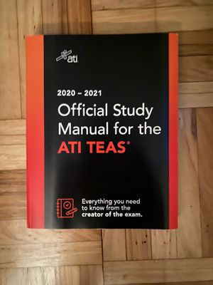 ATI TEAS Nursing study guide for Sale in Long Beach, CA