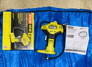 Ryobi P737 18-Volt ONE+ Portable Cordless Power Inflator (Power Tool Only) Brand new for Sale in Riverbank, CA