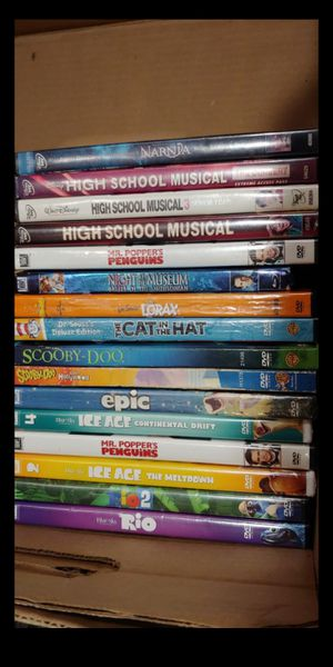 16 Assorted Kids Movies DVDs - Includes All for Sale in Ridley Park, PA