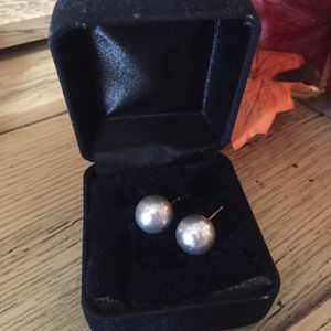 Tiffany & Co. Large Ball Stud Earrings for Sale in The Bronx, NY