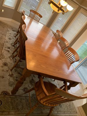 Oak dining-kitchen table for Sale in Macomb, MI