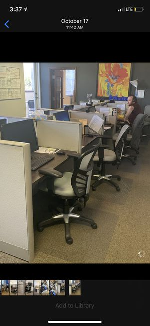 Cubicles, Chairs, Filing Cabinets, Desks for sale! for Sale in Vero Beach, FL