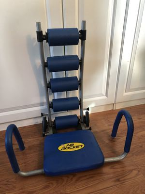 Ab rocket workout exercise machine for Sale in Wesley Chapel, FL