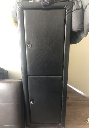 Leather armoire for Sale in Detroit, MI