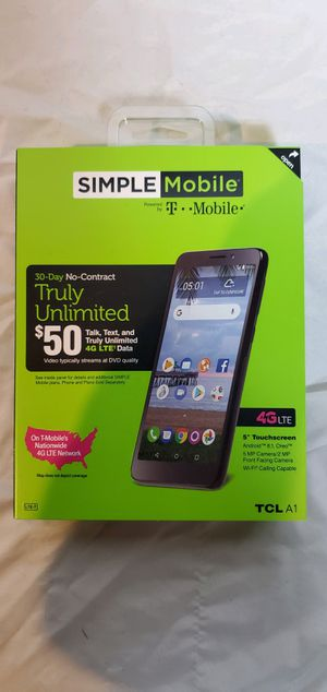 Simple Mobile by T-Mobile TCL A1 for Sale in Las Vegas, NV