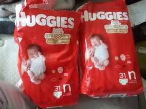 Huggies Newborn for Sale in Colorado Springs, CO