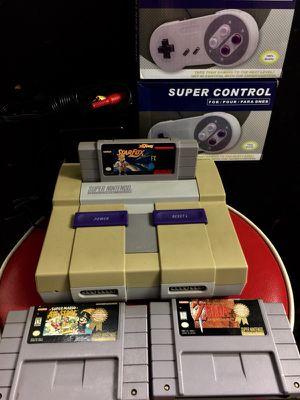 Super Nintendo (Snes) System + Mario's, Zelda, Star Fox etc. Bundle For Sale for Sale in Austin, TX