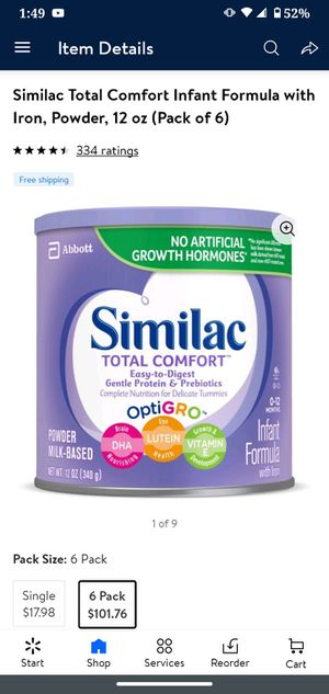 Similac for Sale in Worcester, MA
