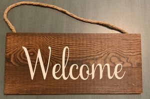 Welcome sign for Sale in Poulsbo, WA
