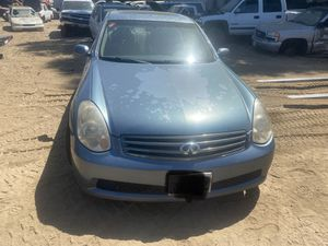 2005 INFINITY G35 (PARTS ONLY) for Sale in Modesto, CA