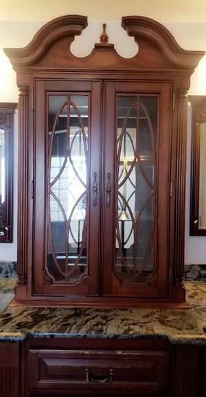 Beautiful Antique Hutch/Armoire for Sale in Hesperia, CA