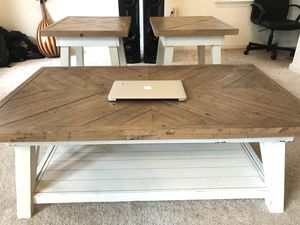 Ashly store coffee table set of 3 for Sale in Laurel, MD