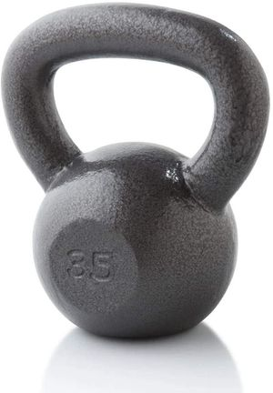 35 Lb. Cast Iron Kettlebell Hammertone Finish Nr Mint for Sale in Portland, OR