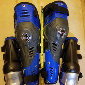 Kona armor knee, shin, elbow, and forearm protectors for Sale in Redmond, WA