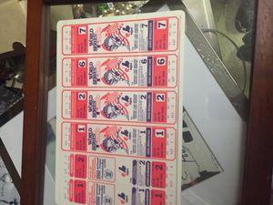 OriginalWorld Series game 1,2,6,7 game tickets for Sale in Denver, CO