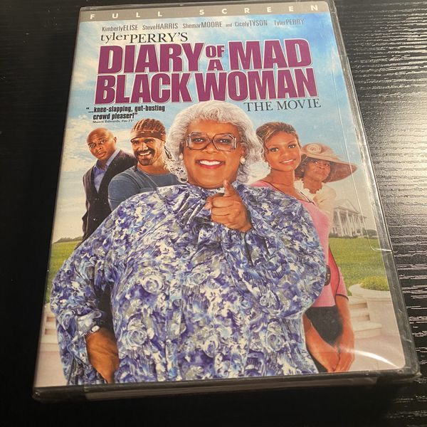 Tyler Perry's Diary Of A Mad black Woman DVD Brand New