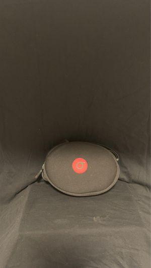 Original Beats By Dr Dre Studio 2 3 Carry Case Travel Pouch Black Red for Sale in La Mesa, CA