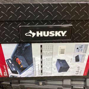 Husky 40.8 Matte Black Aluminum Full Size Chest Truck Tool Box for Sale in Glendale, AZ