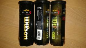 US Open Wilson Tennis Balls (3) 3-in-1 for Sale in New York, NY