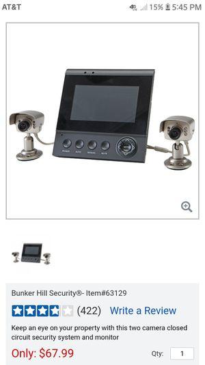 Bunkin hills security cameras for Sale in Salem, VA