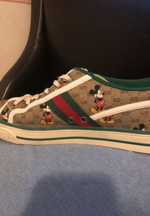 Mickymouse Gucci tennis shoes for Sale in Lynnwood, WA