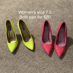 Women's Neon Heels for Sale in Murfreesboro, TN