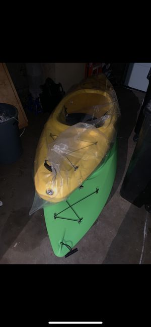 2 kayaks with paddles and life jackets for Sale in South Attleboro, MA