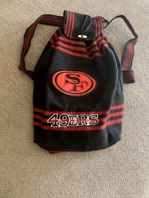 New 49ers bag / backpack for Sale in Visalia, CA