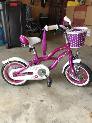 Girls 12in Purple Bike for Sale in Gaithersburg, MD