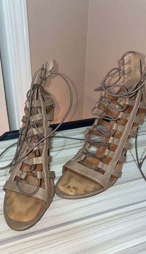 Mark and Maddus nude heels for Sale in Gonzales, LA