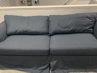 Nice feather down pillow Couch for Sale in Las Vegas,  NV