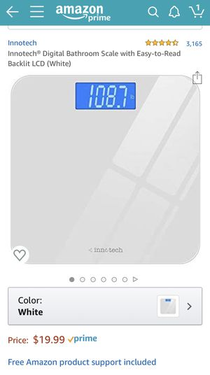 NEW Digital Bathroom Scale LED light for Sale in Claremont, CA