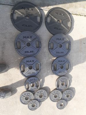 Grip Max Olympic Weight Set for Sale in BVL, FL