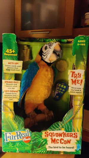 Furreal Friends Squawkers McCaw for Sale in Palm Bay, FL