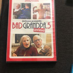 Bad Grandpa .5 Dvd for Sale in Anaheim, CA