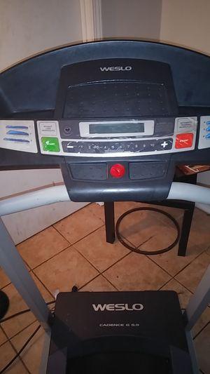 WESLO Excellent. Sturdy Treadmill - Folds For Storage for Sale in Jonesboro, GA