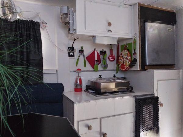 """8"""" ft Slide in Truck Camper"""