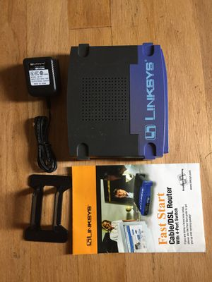 Linksys Cable DSL Router for Sale in Lake Ridge, VA