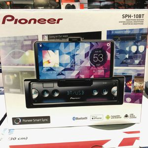 Pioneer sph-10bt in the stairs my phone receiver for both Android and Apple on sale today for only 139 for Sale in Downey, CA
