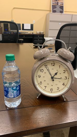 Antique lavender alarm clock for Sale in Cary, NC