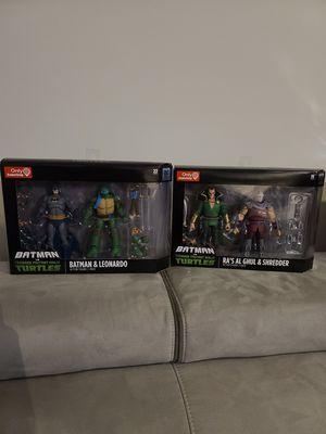 DC Collectibles Batman vs TMNT GameStop Exclusives for Sale in Stafford, VA