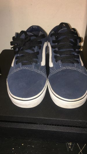 Vans Blue Suede Size 6 for Sale in Long Beach, CA