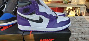 Jordan 1 High Court and Royal toe for Sale in McAllen, TX